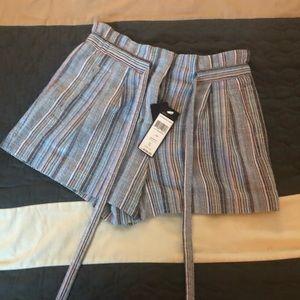 Women's Renee Belted Striped Shorts